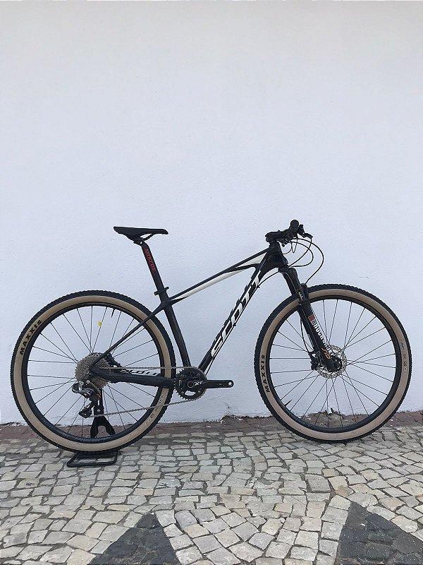 Bicicleta SCOTT Scale 910 2018 11V Aro 29 Preto/Branco - Tam. 17