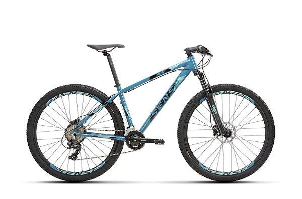Bicicleta SENSE Fun Comp 2021 Aro 29 Aqua/Preto - Tam. 17