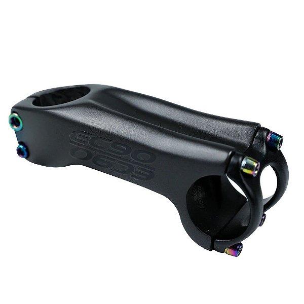 Suporte de Guidão Carbono EC90 6° 70mm Preto