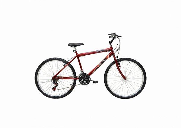 Bicicleta CAIRU Flash Aro 24 Vermelho