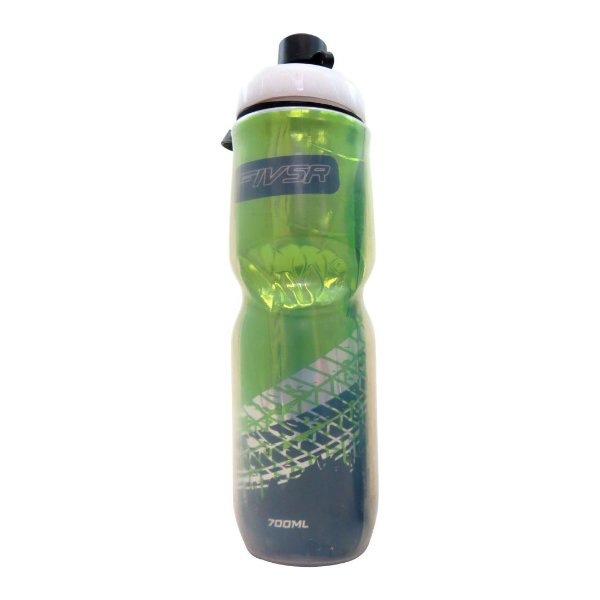 Garrafa Termica FIV5R Transparente Verde - 700ml