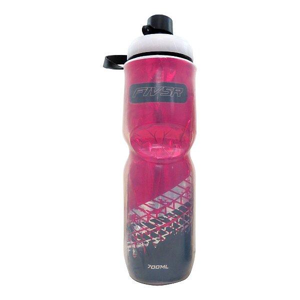 Garrafa Termica FIV5R Transparente Rosa - 700ml