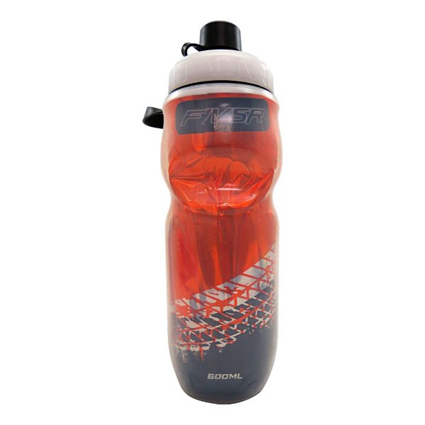 Garrafa Termica FIV5R Transparente Laranja - 600ml