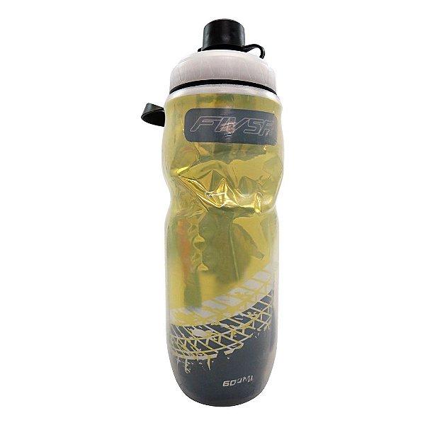 Garrafa Termica FIV5R Transparente Amarela - 600ml
