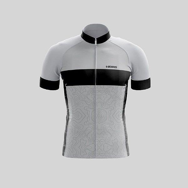 Camisa Ciclismo SOLIFES TOPO Preto - Tam. M