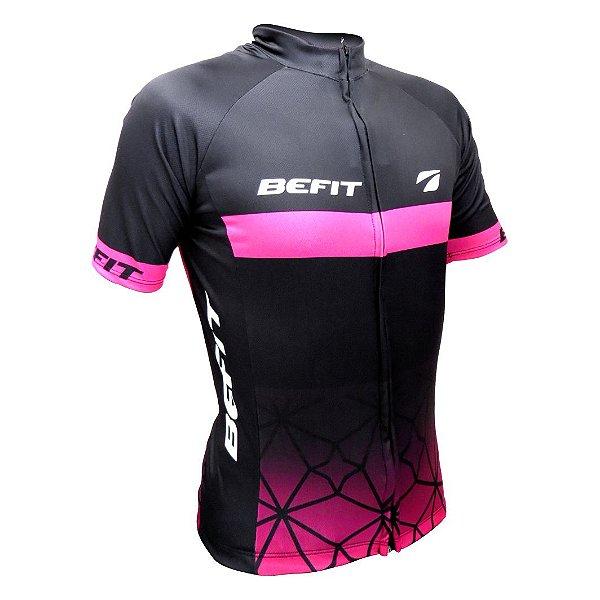 Camisa BEFIT Faixa Rosa - Tam. P