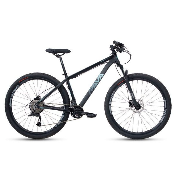 Bicicleta RAVA PRESSURE Aro 29 20V Preto/Azul - Tam. 17