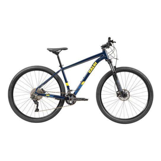 Bicicleta CALOI Explorer Expert 2021 Aro 29 20v Azul - Tam. 15