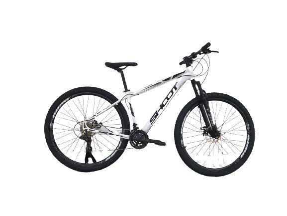 Bicicleta SHOOT RAGE Aro 29 21v Branco - Tam. 17