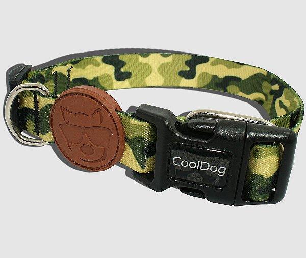Coleira para Cachorro - Army