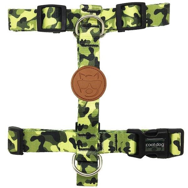 Peitoral para Cachorro - H - Army
