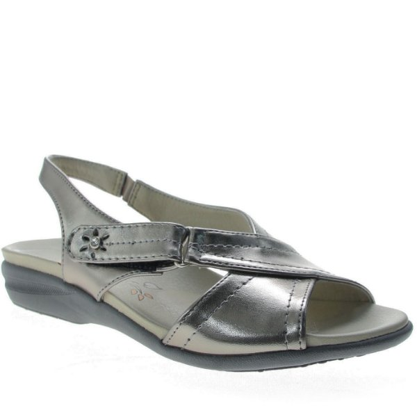 Chinelo Anatômico D'Moon Pewter