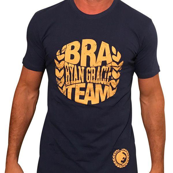 21fd2c1b6 Camisa BRA-Blue Marine - LutaShop - Produtos Família Gracie