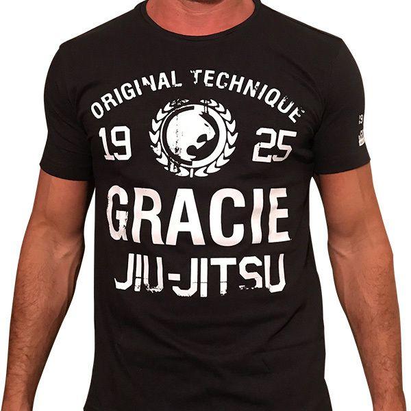 Camisa Gracie Technique (Preta)