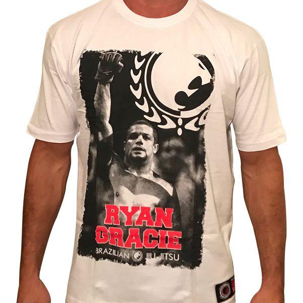 Camisa Gladiador (Branca) - Ryan Gracie