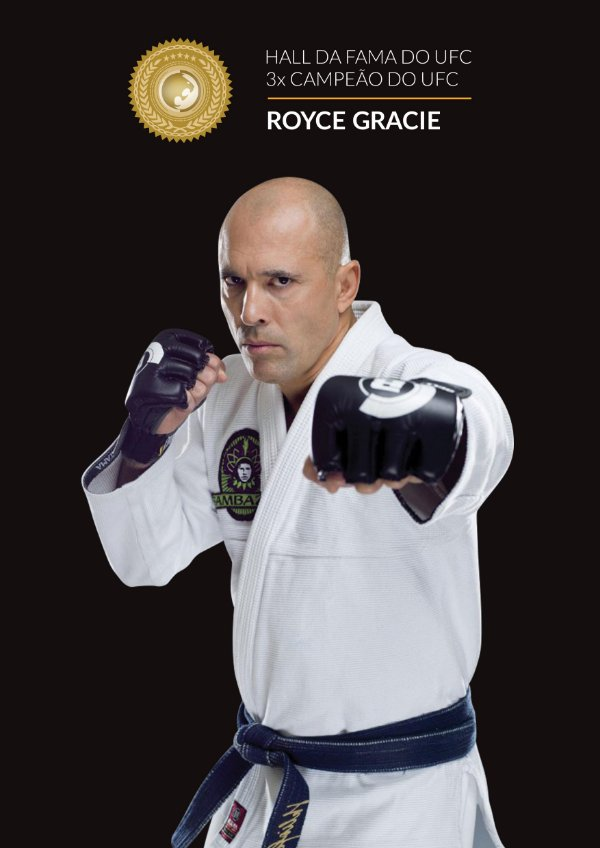 Poster Royce Gracie