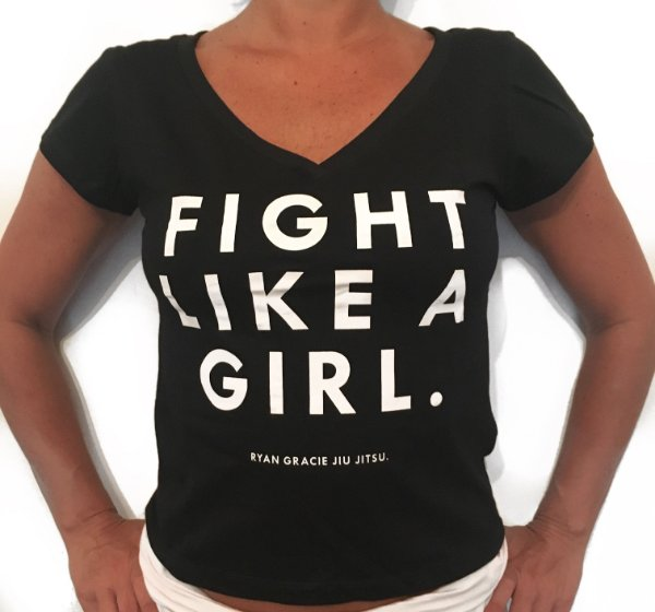 FIGHT LIKE A GIRL.
