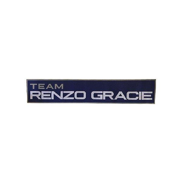 Patch - Renzo Gracie Team - Azul 300mm
