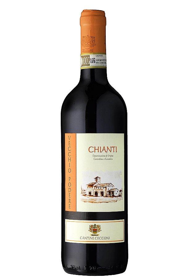 VINHO TINTO ITALIANO CANTINE CECCONI CHIANTI DOCG 2015 750ML