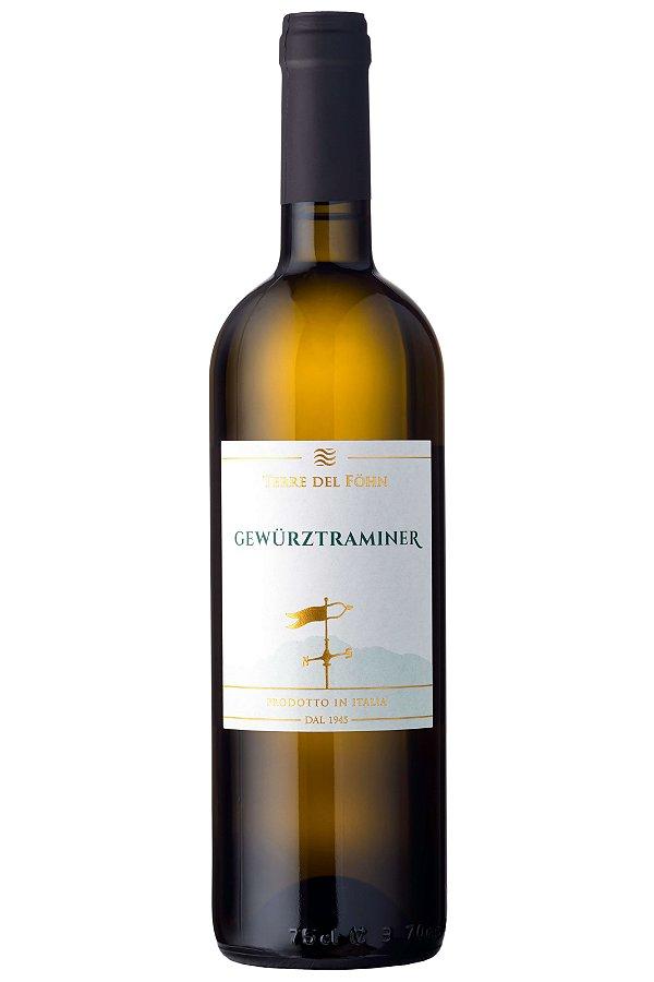VINHO BRANCO ITALIANO CANTINE MONFORT GEWURZTRAMIENER 2016 DOC 750ML