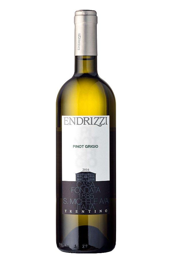 VINHO BRANCO ITALIANO ENDRIZZI PINOT GRIGIO DELLE VENEZIE 2016 750ML
