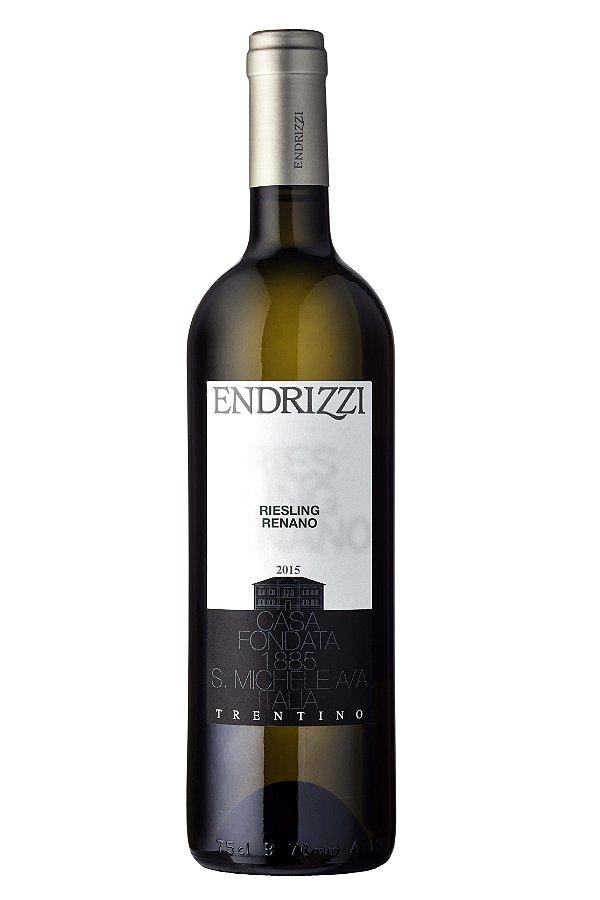 VINHO BRANCO ITALIANO ENDRIZZI RIESLING RENANO 2015 750ML