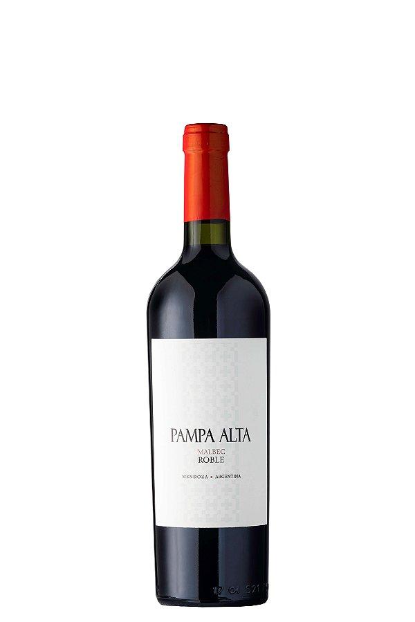 VINHO TINTO ARGENTINO PAMPA ALTA MALBEC 2017 750ML