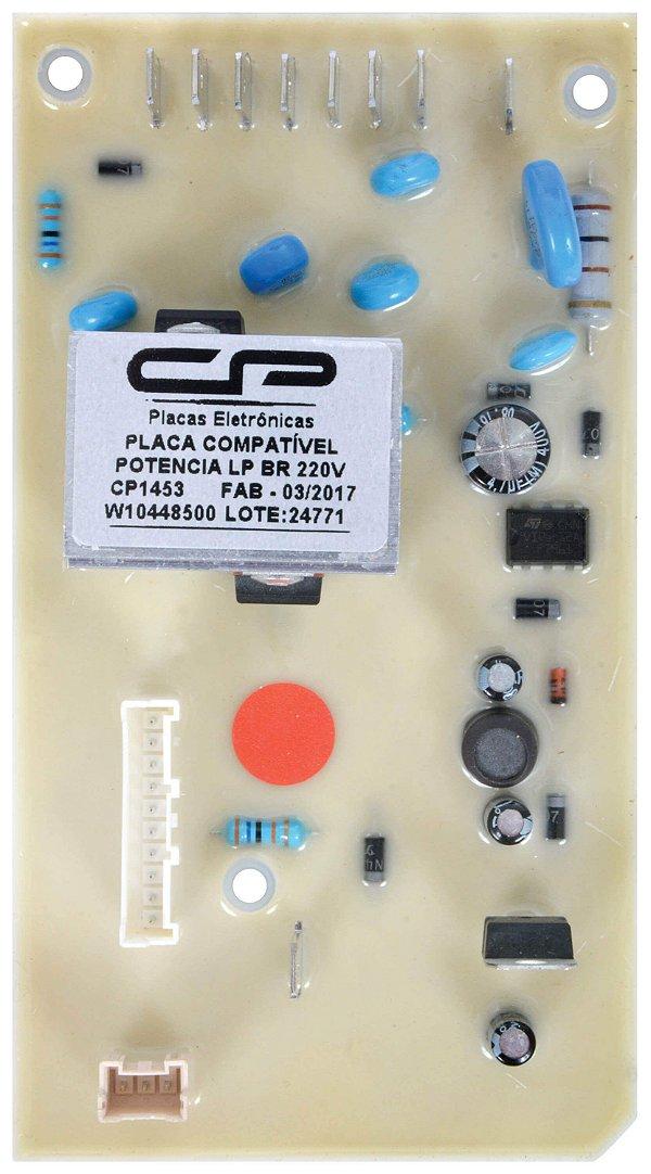PLACA POTENCIA LAVADORA BRASTEMP/CONSUL COMPATIVEL 220V CP1453