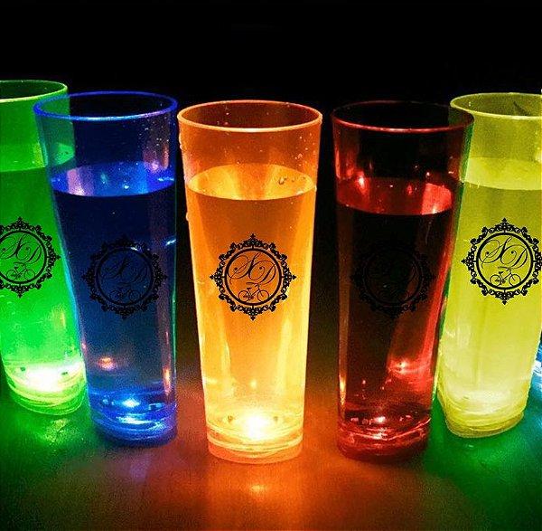 Copos de led personalizados para festa (10 unidades)