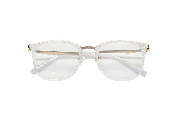 Armação de Grau 445 Madrepérola - Kessy - Óculos de Grau, de Sol e ... 3d211fbd06