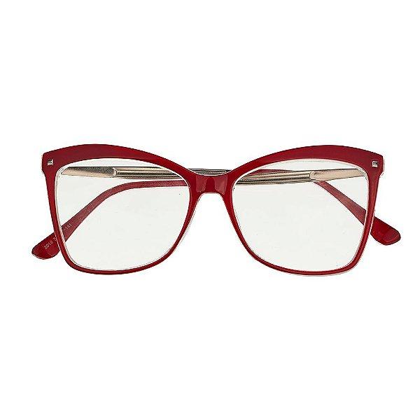 d8a6d6cd8b560 Armação de Grau 795 Vermelho - Kessy - Óculos de Grau, de Sol e ...