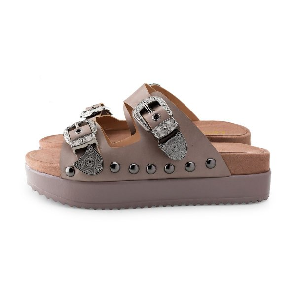 Birken Kessy West Dark Rose
