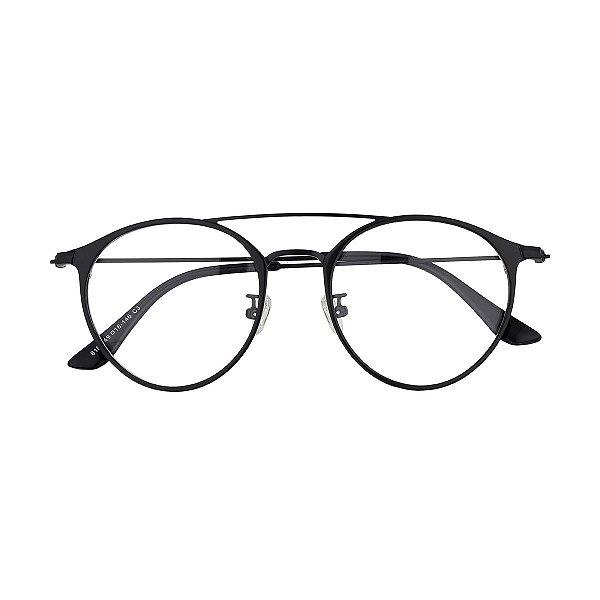 bc18347348321 Óculos de Grau Kessy 910 Preto - Kessy