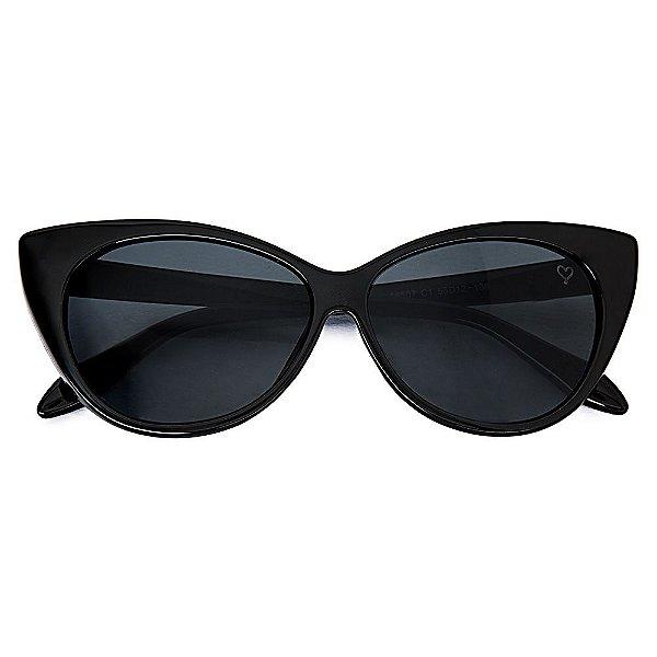 Óculos de Sol Kessy Cat Preto