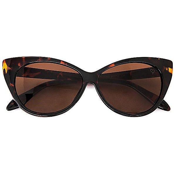 Óculos de Sol Cat Tartaruga