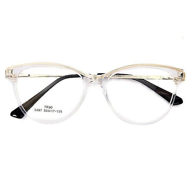 89d68cadb Óculos de Grau Kessy 940 Transparente - Kessy | Compre moda feminina ...
