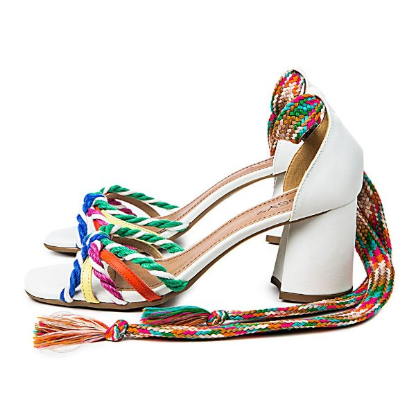 Sandália Color Branca