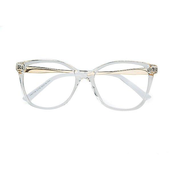 fc6455f8121ee Óculos de Grau Kessy 950 Transparente - Kessy