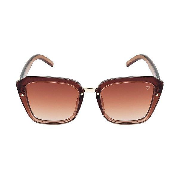 1ac263ffc Óculos de Sol Kessy Olga Marrom - Kessy | Compre moda feminina ...