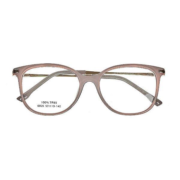 85ebb940fb99d Óculos de Grau Kessy 735 Nude - Kessy