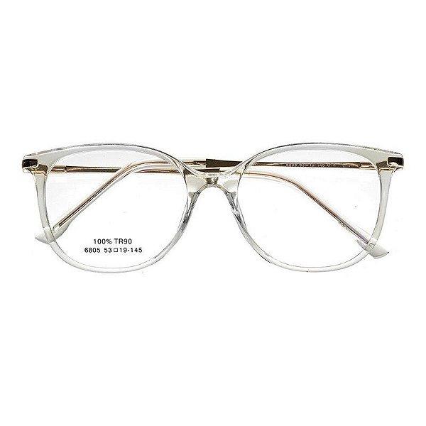 12c016c7b Óculos de Grau Kessy 735 Transparente - Kessy | Compre moda feminina ...