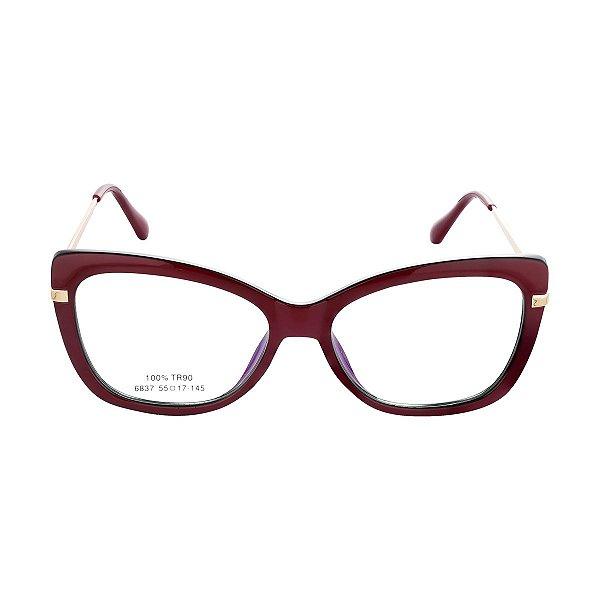 Óculos de Grau Kessy 920 New Vinho