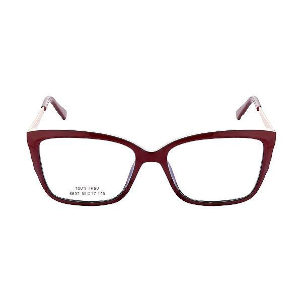 Óculos de Grau Kessy 980 Vinho