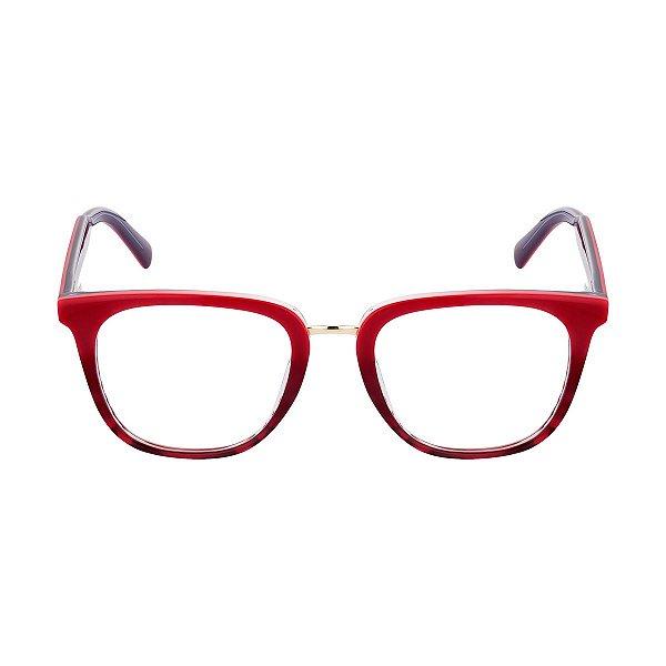 Óculos de Grau Kessy 990 Vinho Degradê