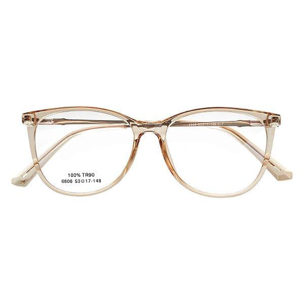 e76dc92010de2 Óculos de Grau Kessy 735 New Dourado - Kessy