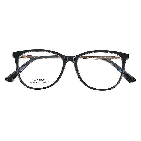 0d1606627e5de Óculos de Grau Kessy 735 New Preto - Kessy
