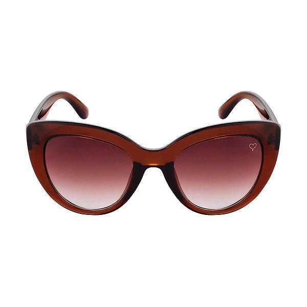 Óculos de Sol Kessy Madri Marrom