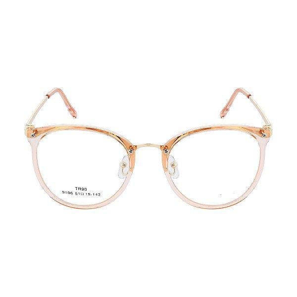 Óculos de Grau Kessy 100 Dourado