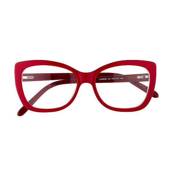 Óculos de Grau Kessy 825 Vermelho