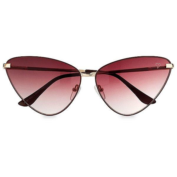 Óculos de Sol Kessy Gatinha Marrom